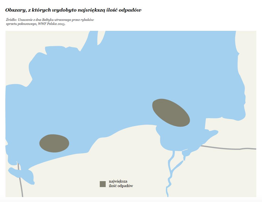 Ochrona przyrody a zmiany klimatyczne: Gdzie wydobyto najwięcej odpadów w Morzu Bałtyckim?