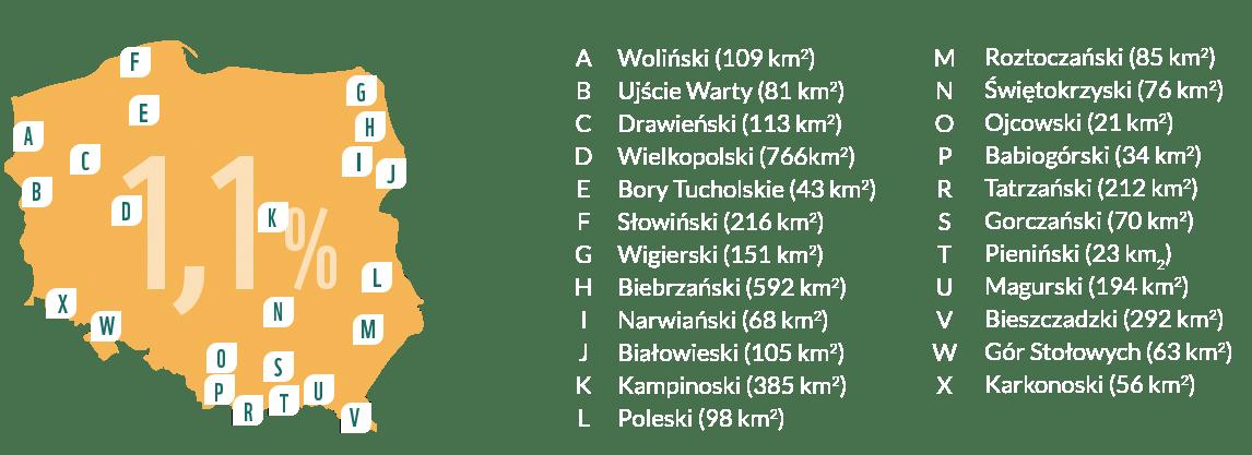 Ochrona przyrody a zmiany klimatyczne: mapa parków narodowych w Polsce